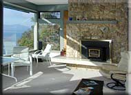Large Patio Fireplace