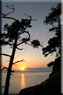 Pender Island Sunset
